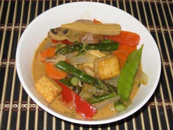 Panang Curry From May Kaidee's Thai Vegetarian And Vegan Cookbook
