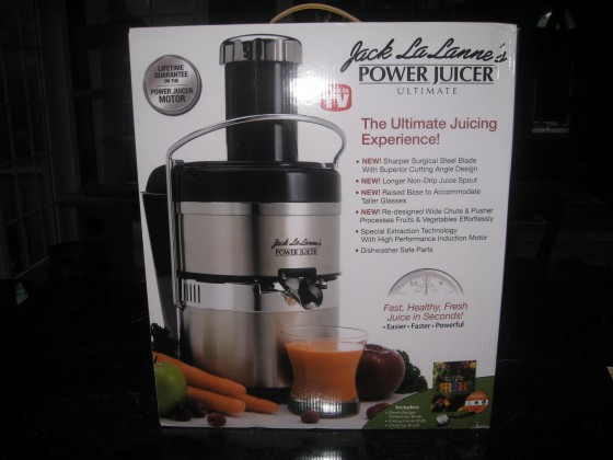 jack lalanne s power juicer and two simple juice recipes. Black Bedroom Furniture Sets. Home Design Ideas