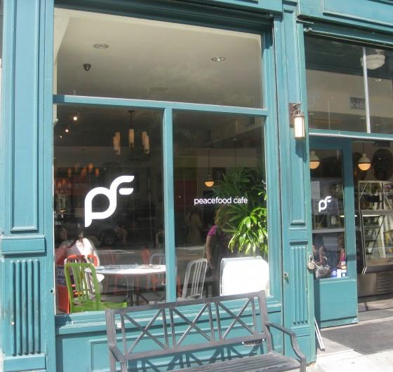 Peacefood Cafe Union Square Menu