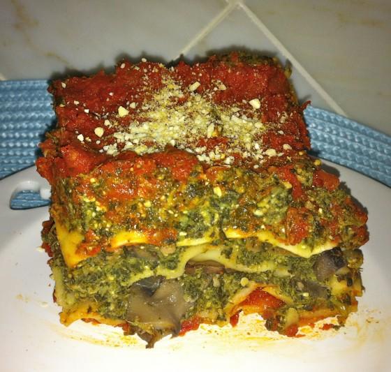 Savory Vegan Lasagna