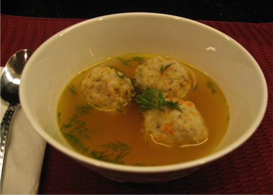 Vegan Matzoh Ball Soup