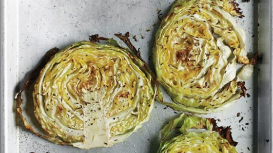Martha Stewart's Roasted Cabbage Wedges