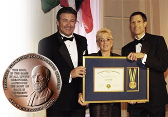 Alec Baldwin, Nanci Alexander and Dr. Neal Barnard