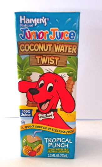 Hansen's Coconut Water Twist Tropical Fruit
