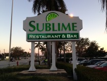 Sublime Restaurant &amp; Bar, Fort Lauderdale, Florida