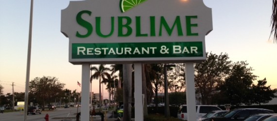 Sublime Restaurant & Bar, Fort Lauderdale, Florida