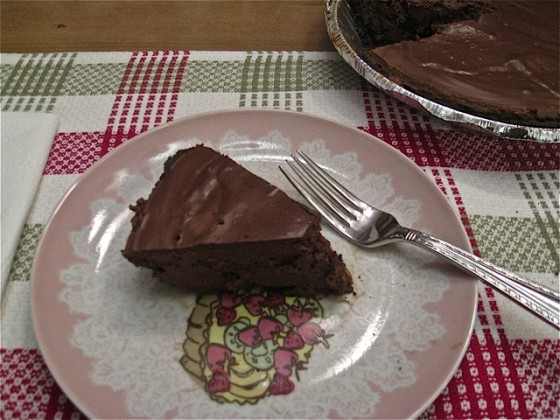 Decadent Vegan Chocolate Pie