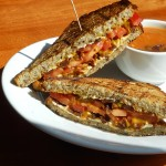Hugo's Vegan Bacon Grilled Cheese