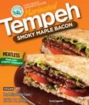 Turtle Island Foods Marinated Tempeh Smoky Maple Bacon