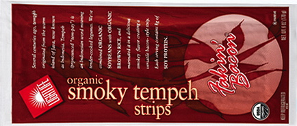 Lightlife Organic Smoky Tempeh Strips Fakin' Bacon