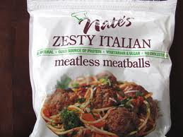 Nate's Zesty Italian Meatless Meatballs