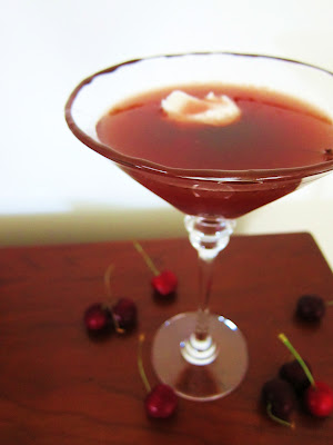 Black Forest Martini from Fragrant Vanilla Cake