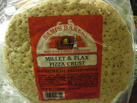 Sami's Bakery Millet & Flax Crust Pizza