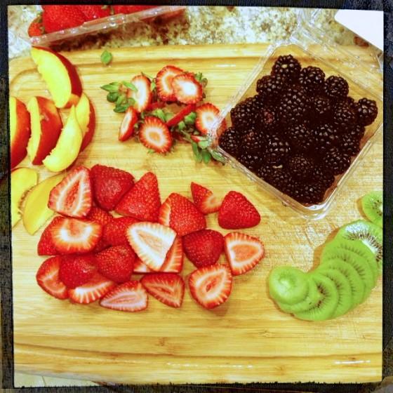 Preparing Fresh Fruit for Decoration