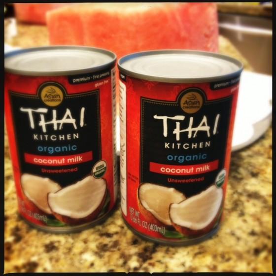 Chilled Full Fat Coconut Milk