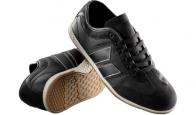 Brighton in Black/Cement from Macbeth Footwear ($65.00)