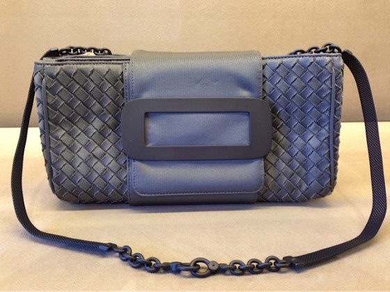 Bottega Veneta's Shadow Intrecciato Jersey Bag