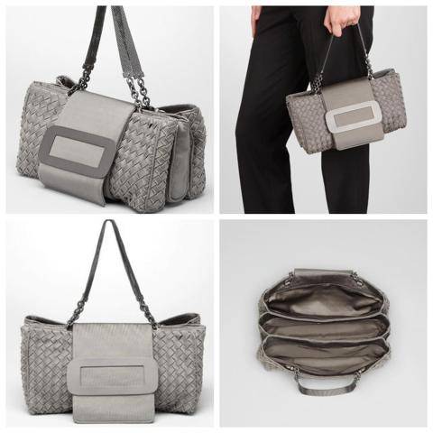 Bottega Veneta's Appia Intrecciato Jersey Bag