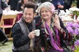 "Rob Schneider & Joyce Van Patten in ""Grown-Ups"""