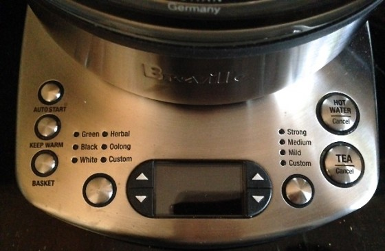Base of Breville One-Touch Tea Maker