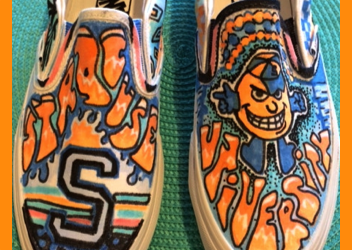 Syracuse University Customized Sneakers