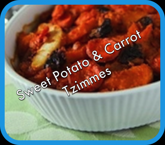 vegan american princess sweet potato and carrot tzimmes