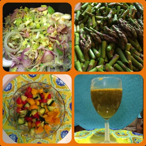 chilled asparagus soup