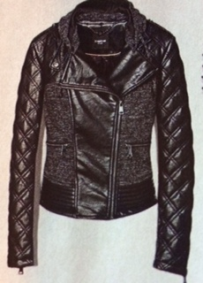 BEBE Faux-Leather Jacket  79.90 c359f096a