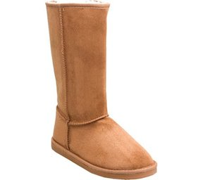 Reneeze Women's Rose 1 Mid Calf Faux Shearling Boot
