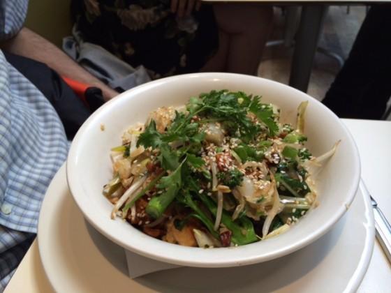 Stir-Fried Asian Vegetables in Plum Teriyaki Sauce (Mildred's, London)