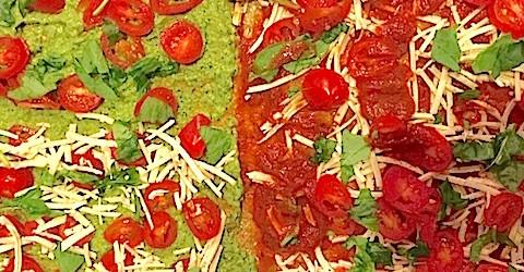 Cauliflower Crust Pizza: Vegan and Gluten Free