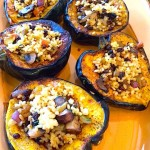 Stuffed Acorn Squash with Rice