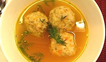Vegan Matzoh Ball Soup