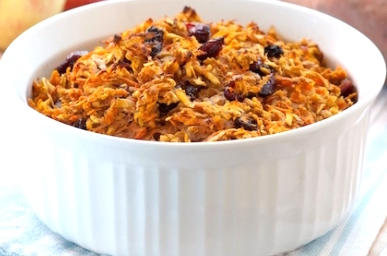 Sweet Potato and Apple Kugel