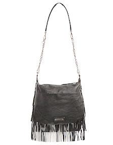 Madden Girl Fringe Crossbody Bag (V)
