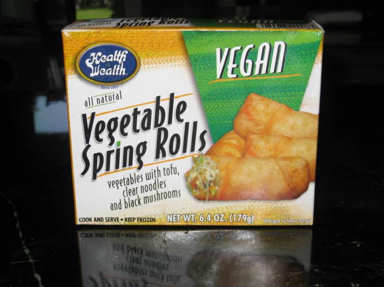"""""""Health Is Wealth"""" Vegetable Spring Rolls - Vegan American ..."""