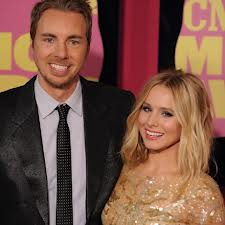 Actors Dax Shepard and Kristin Bell
