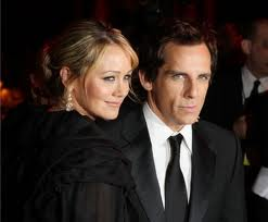 Ben Stiller and wife, Christine Taylor