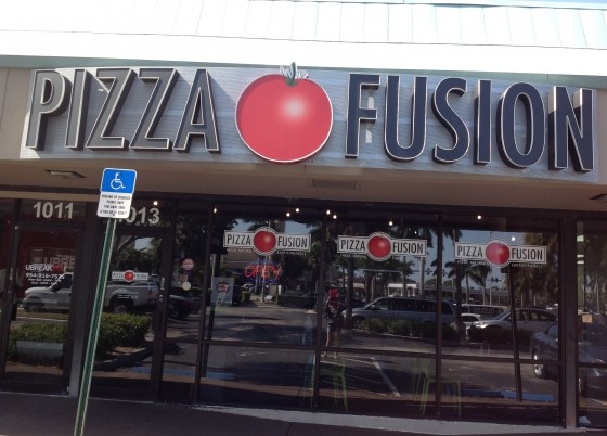 Pizza Fusion In Fort Lauderdale, Florida