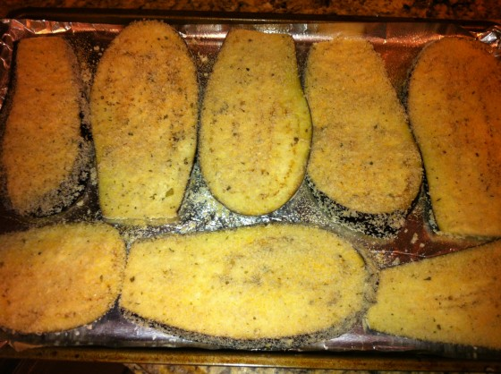Breaded and Ready to Bake