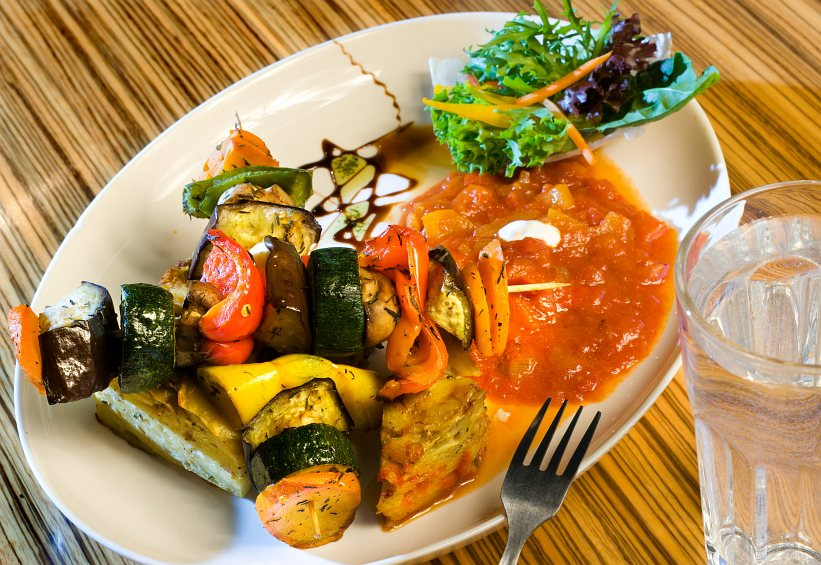 Clear Head Veggie Kabob