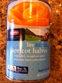 Apricot Halves, Unpeeled in Apricot Juice