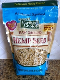 Earth's Choice Raw Shelled Hemp Seed