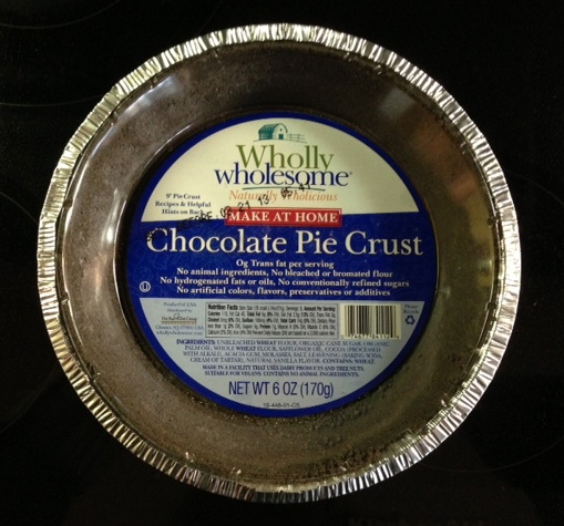 Wholly Wholesome Chocolate Pie Crust