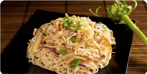 Hot or Cold Sesame Noodles with Miracle Noodles