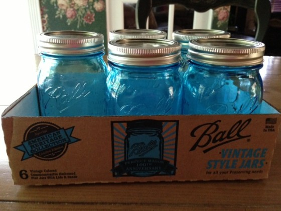 Ball Vintage Style Mason Jars From American Heritage Collection