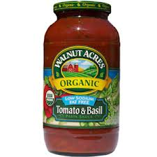 Walnut Acres Tomato & Basil Pasta Sauce