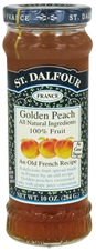 St. Dalfour's Golden Peach All Natural 100% Fruit Spread