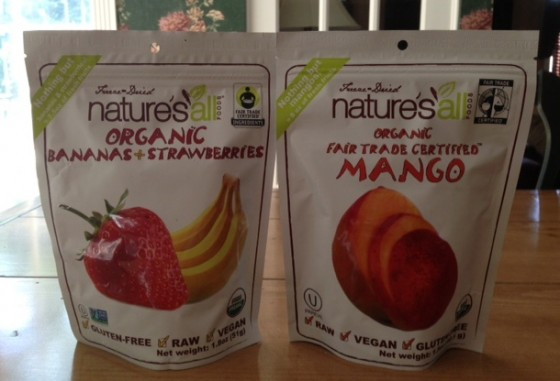 Nature's All Freeze-Dried Fruits