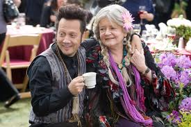 "Rob Schneider & Joyce Van Patten in ""Grown-Ups"""